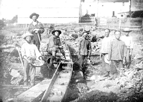 the gold rush california. during the gold rush,
